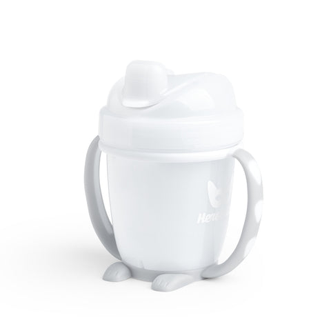 Sippy Cup con Cappuccio 140 ml White | HEROBILITY | RocketBaby.it