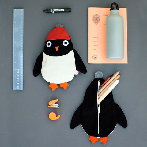 Astuccio Portapenne Pinguino Ned | ESTHEX | RocketBaby.it
