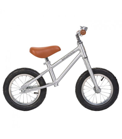 Bicicletta Balance Bike First Go Chrome | BANWOOD | RocketBaby.it