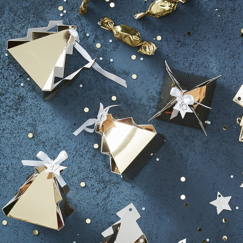 Calendario Avvento Gold Christmas Tree | GINGER RAY | RocketBaby.it