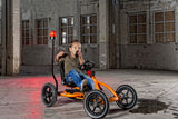 Go Kart a Pedali Buddy Orange - RocketBaby - 3
