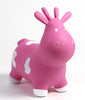 Gonfiabile Cavalcabile Small Mucca Rosa - RocketBaby - 1