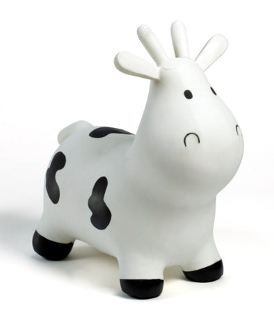 Gonfiabile Cavalcabile Small Mucca Bianco |  | RocketBaby.it