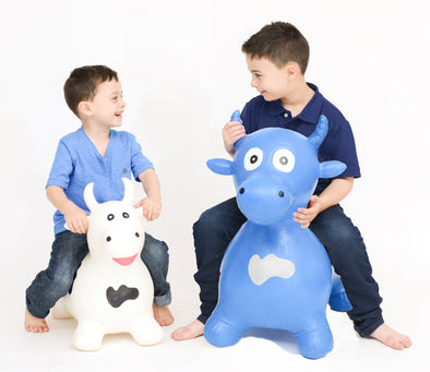 Gonfiabile Cavalcabile XL Toro Blu |  | RocketBaby.it