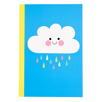 Quaderno A5 Happy Cloud | REX LONDON | RocketBaby.it