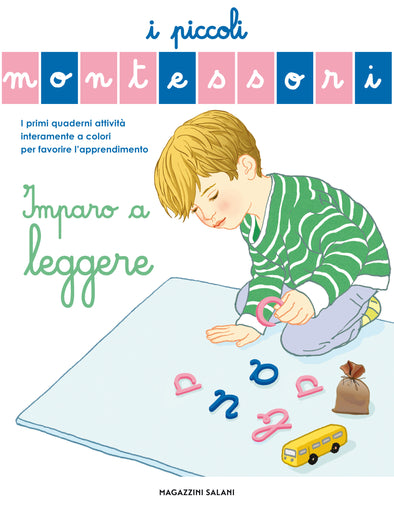 Libro Piccoli Montessori Imparo A Leggere | MESSAGGERIE LIBRI | RocketBaby.it