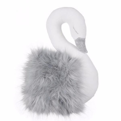 Peluche Cigno Exclusive Grafite | COTTON & SWEETS | RocketBaby.it