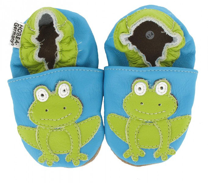 newest 7eb10 a944f Slippers Frog  HOBEA  RocketBaby.it