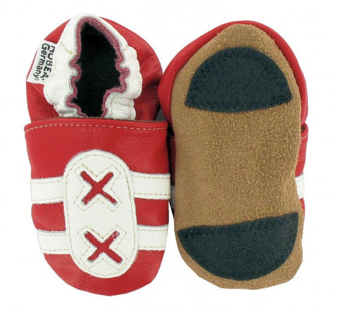 Babbucce Trainers Rosse/Bianche - RocketBaby - 2