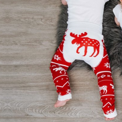 Leggings Baby Nordic Moose | LAZY ONE | RocketBaby.it