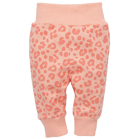 Leggins Sweet Panther Salmone | PINOKIO | RocketBaby.it