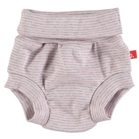 Culotte a Righe Grey Melange e Pink | LIMOBASICS | RocketBaby.it