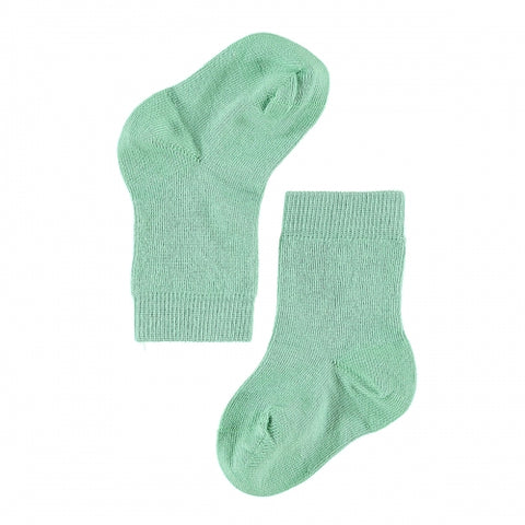 Calze in Cotone Verde Muschio | LIMOBASICS | RocketBaby.it