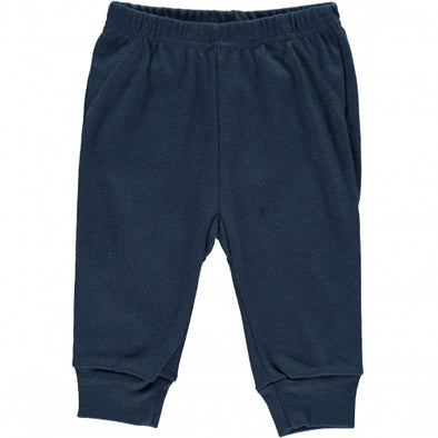 Pantaloni con Elastici Navy | LIMOBASICS | RocketBaby.it