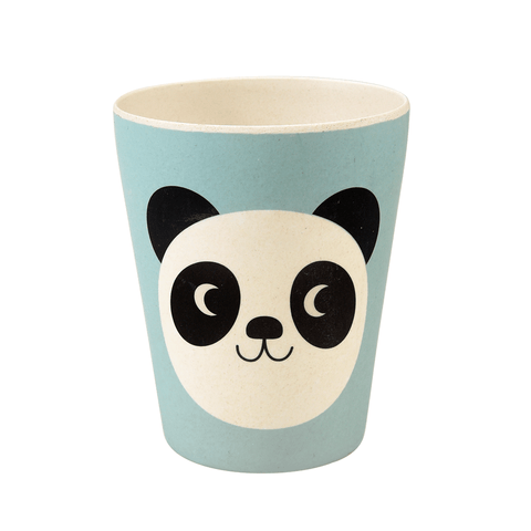 Bicchiere In Bamboo Miko The Panda | REX LONDON | RocketBaby.it