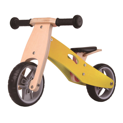 Bici e Triciclo 2 in 1 Lemon Yellow | UDEAS | RocketBaby.it