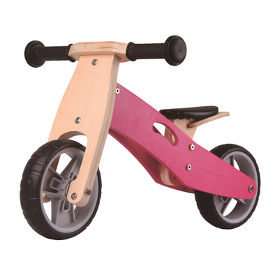 Bici e Triciclo 2 in 1 Rosa | UDEAS | RocketBaby.it