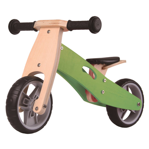 Bici e Triciclo 2 in 1 Green | UDEAS | RocketBaby.it