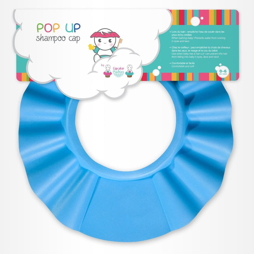 Cappello Anti Schiuma Blu - CUPCAKE BABIES - RocketBaby.it - RocketBaby