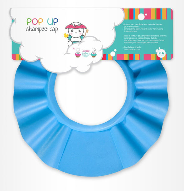 Cappello Anti Schiuma Blu | CUPCAKE BABIES | RocketBaby.it
