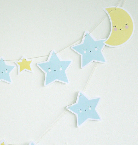 Ghirlanda Decorativa Moon & Stars - RocketBaby - 1