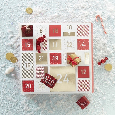Calendario Avvento Fill Your Own Advent Novelty Christmas | GINGER RAY | RocketBaby.it