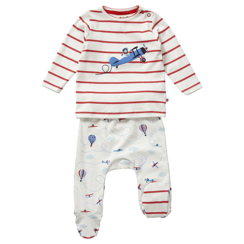 Set 2 Pezzi Fly the Sky | PICCALILLY | RocketBaby.it