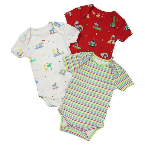 3 Body Rainbow Ark | PICCALILLY | RocketBaby.it