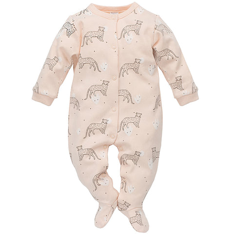 Tuta Intera Con Piedini Sweet Panther Rosa | PINOKIO | RocketBaby.it