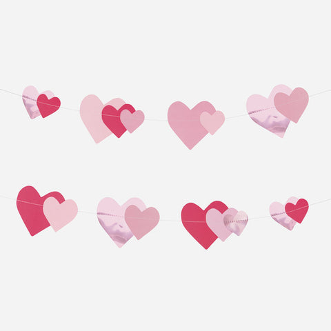 Ghirlanda Decorativa Pink Heart | MY LITTLE DAY | RocketBaby.it