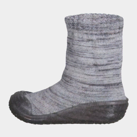Calze Gommate Knitted Grey | PLAYSHOES | RocketBaby.it