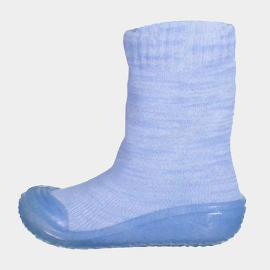 Calze Gommate Knitted Light Blue | PLAYSHOES | RocketBaby.it