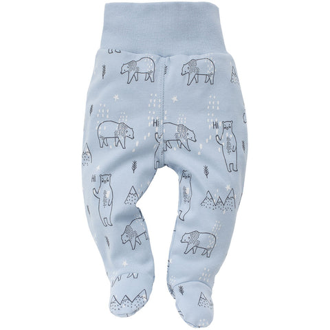 Pantaloni Con Piedini North Azzurro | PINOKIO | RocketBaby.it