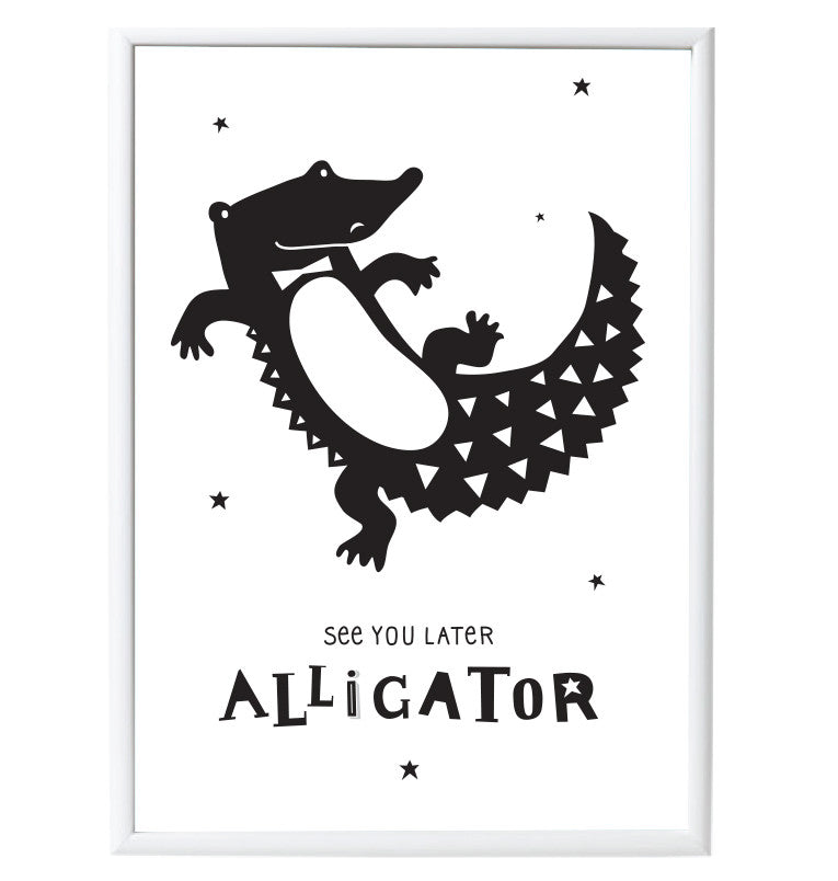 Poster da Muro Alligator - RocketBaby - 1