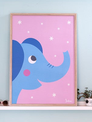 Poster Luminoso Elefante | JULICA | RocketBaby.it