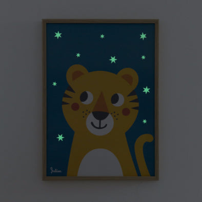 Poster Luminoso Tigre |  | RocketBaby.it