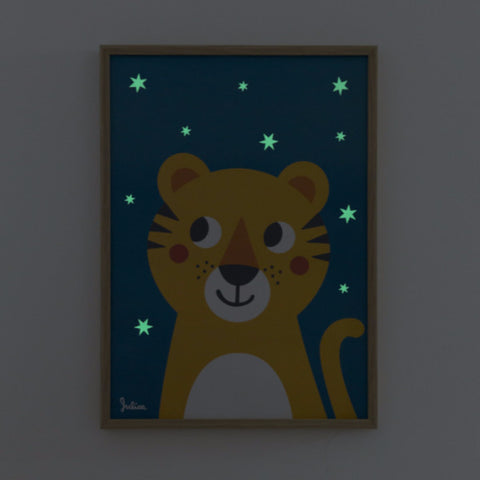 Poster Luminoso Tigre | JULICA | RocketBaby.it