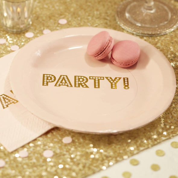 Piatti di Carta Party | GINGER RAY | RocketBaby.it
