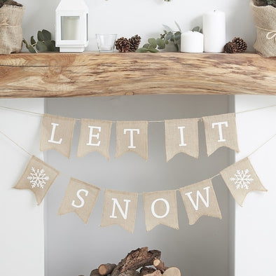 Ghirlanda Decorativa Let It Snow | GINGER RAY | RocketBaby.it