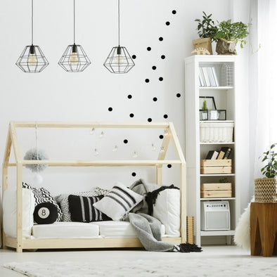 Adesivi Dot Geometric Nero | DEKOSIGN | RocketBaby.it
