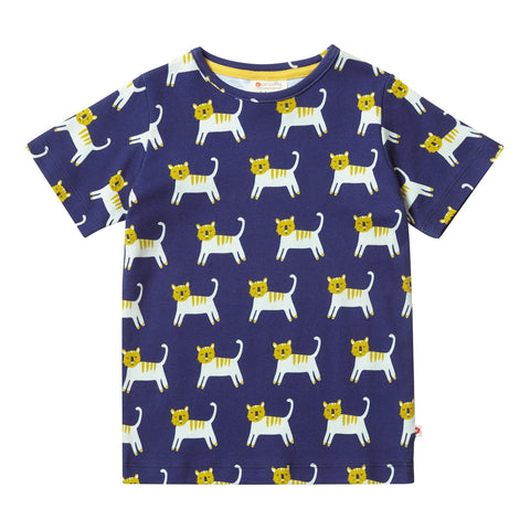 Maglia a Maniche Corte Hello Tiger | PICCALILLY | RocketBaby.it