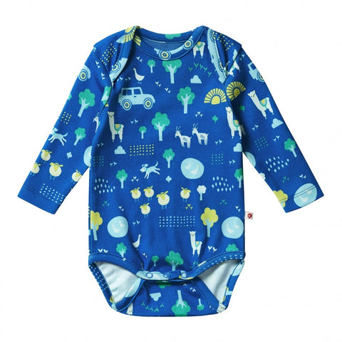 Body a Maniche Lunghe Stackhouse | PICCALILLY | RocketBaby.it