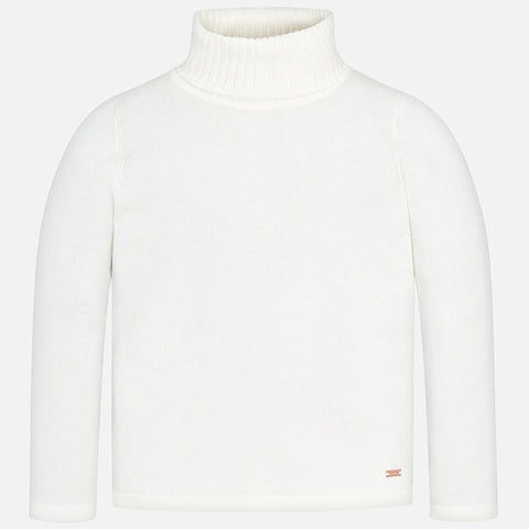 Maglione Dolcevita Basic Panna | MAYORAL | RocketBaby.it