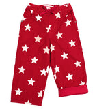 Pantaloni Rossi Stelle Bianche  baby - RocketBaby - 1