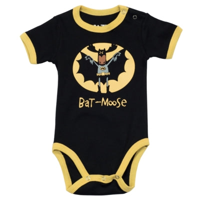 Body a Maniche Corte Boys Bat Moose | LAZY ONE | RocketBaby.it