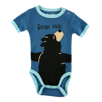Body a Maniche Corte Boys Bear Hug | LAZY ONE | RocketBaby.it