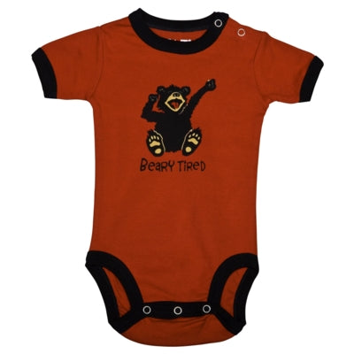 Body a Maniche Corte Beary Tired | LAZY ONE | RocketBaby.it