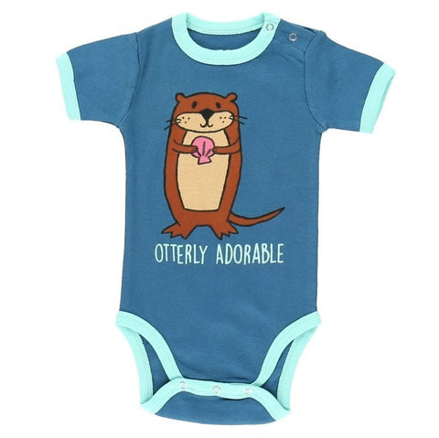 Body a Maniche Corte Otterly Cute | LAZY ONE | RocketBaby.it