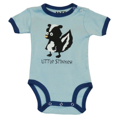 Body a Maniche Corte Boys Little Stinker | LAZY ONE | RocketBaby.it