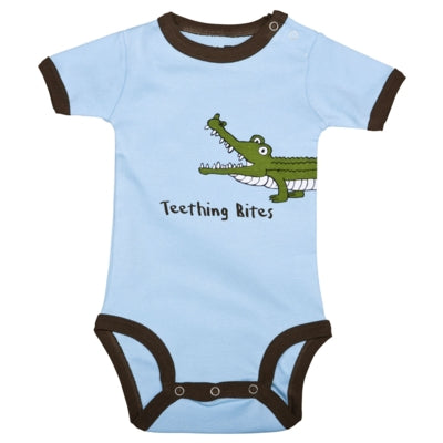 Body a Maniche Corte Wide Awake Alligator | LAZY ONE | RocketBaby.it